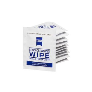 Individual Packed Optical Wet Wipes Single Sachet Lens Cleaning Wet Wipes