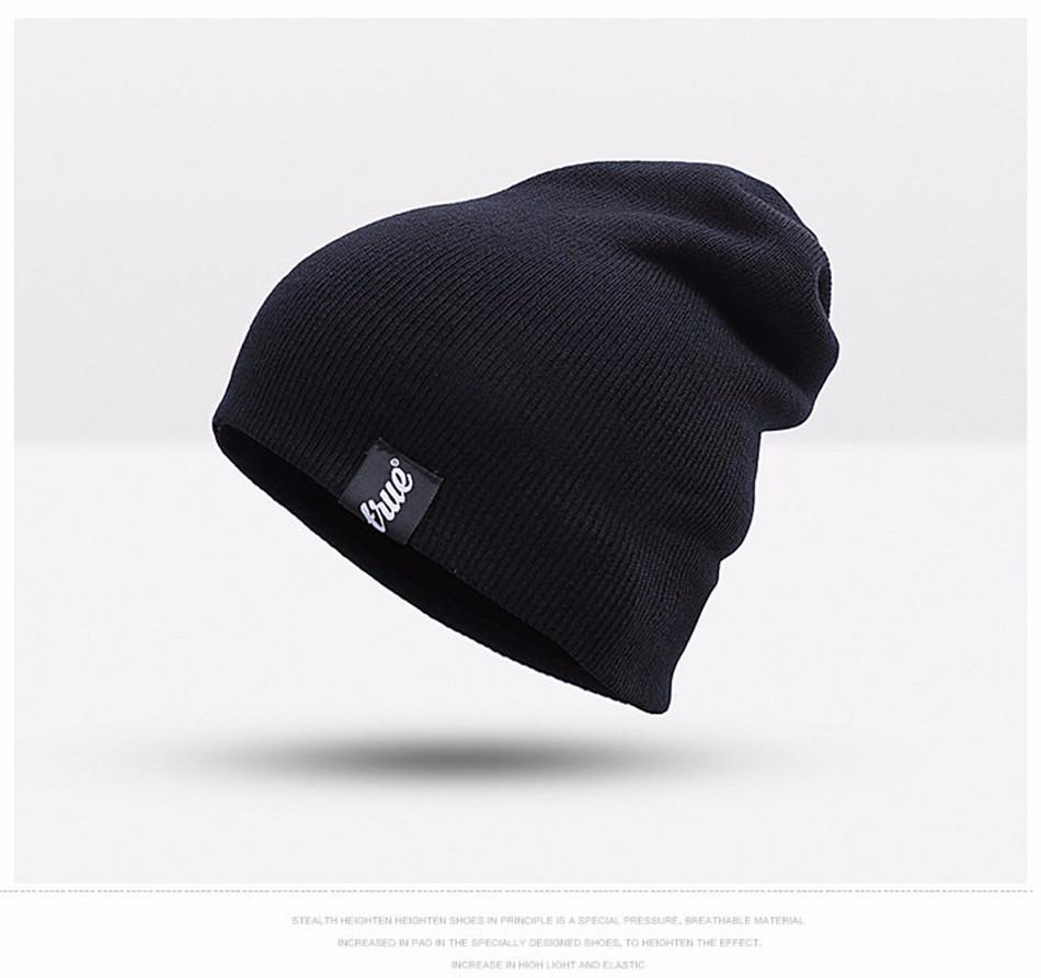 442198b60 2018 Urdiamond 2018 New Fashion Winter Hats For Men Women Soft Knit Warm  Hat Has Elasticity Warm Cap Wool Knitted Hat From Quintin, $25.66 | ...