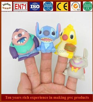 Pvc Animals Finger Puppet Toy,Tiny Soft Pvc Vinyl Finger Toy ...