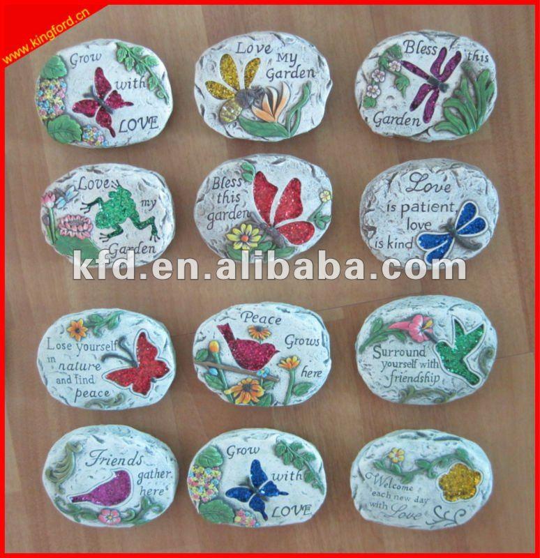 Piedra decorativa para jard n decoraciones jard n adornos - Piedra decorativa jardin ...