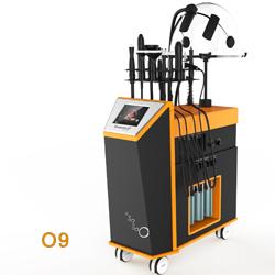 Kecantikan Wajah Ultrasonic Komedo Remover Vacuum RF Produk Perangkat Peralatan Mesin untuk Perawatan Kulit