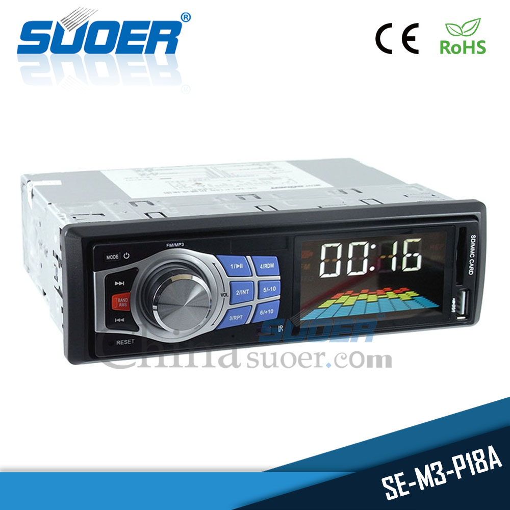 Suoer High quality 12v car FM radio bus car MP3 audio player with USB