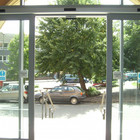 automatic sliding door operator for airport supermarket or hotel pedestrian passageway