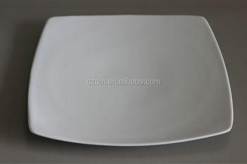 White Melamine Square Plate/Square Shape Melamine Dessert Dish & White Melamine Square Plate/square Shape Melamine Dessert Dish - Buy ...