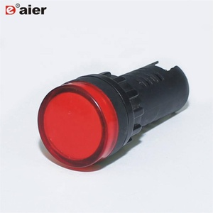240Volt Led Or Neon Square Indicator Lights Or AD16-22DS Indicator Lamp Or Bike Light Turn Signal