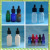 colorful glass dropper pipette cosmetic 20ml perfume bottles