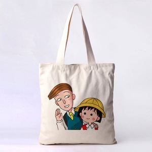 Custom Logo Cloth Shopper Standard Size 100% Cotton Bag