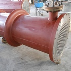 Titanium Shell and Tube Heat Exchanger shell and coil /Condenser /Evaporator for Steam and Oil