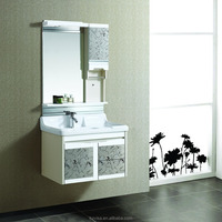 Good price modern wall mounted corner bathroom cabinet