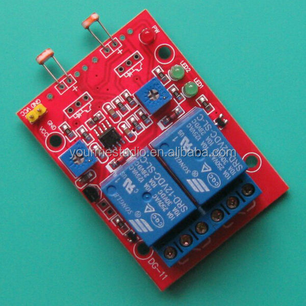 Stable Version 12V Power Supply 2 Channel Photoresistor Light Detection Switch Sensor Module