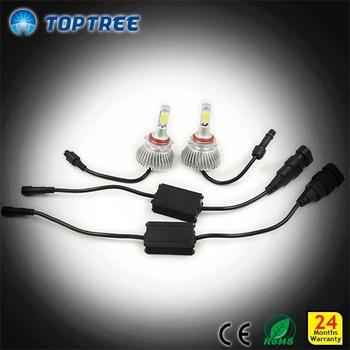 Car Led Head Lights H1 H3 9007 Led Headlight Bulbs For Toyota Prado