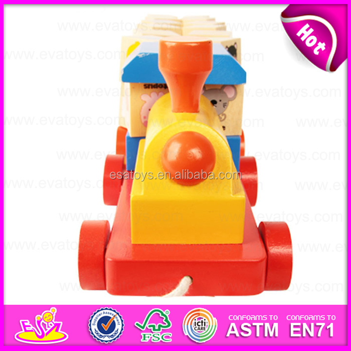 Colourful Abc Letters Wooden Rotational Train Pull Along Toy,Best Selling  Wooden Abc Train Toy With Blocks W05c027 - Buy Train Toy,Train Toy,Wooden