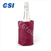 Soft insulated Gel Ice Pack Wine Cooler water bottle cooling sleeve