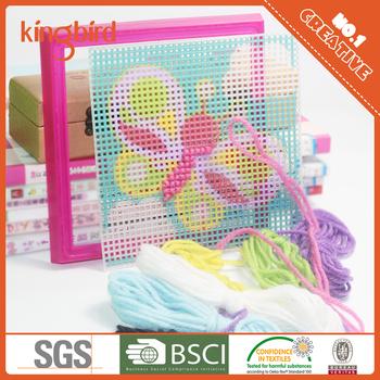 2016 New Product Diy Plastic Canvas Cross Stitch Kit