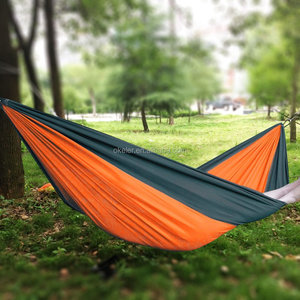 outdoor Furniture Parachute Nylon Camping Hammock for wholesale