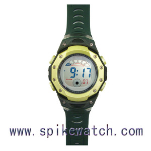 Stopwatch daily alarm wristwatch for training men alarm digital watch