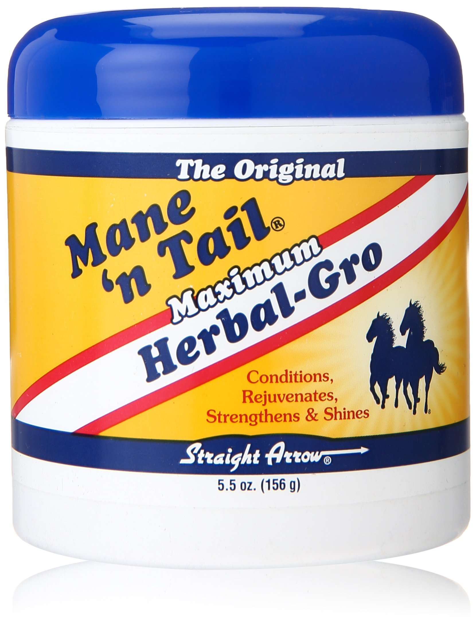 Mane N Tail Straight Arrow Herbal Gro Maximum, 5.5 Ounce
