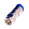 Catv waterproof 50 ohm f connector rg6 compression f type connector