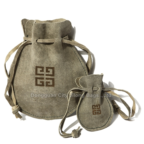 Custom Leather Drawstring Pouch Wholesale - Buy Leather Drawstring ...