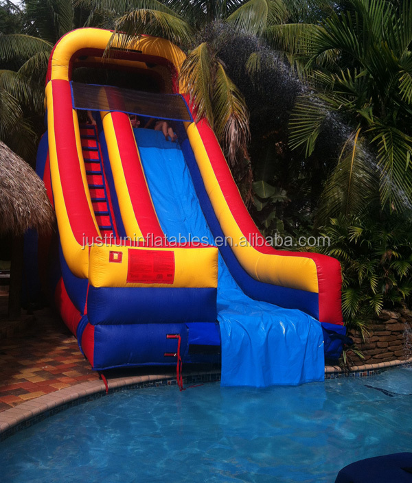 Customized Inflatable Pool Slides For Inground PoolsSlides For