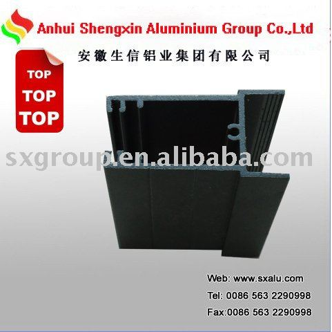Hot sale of Aluminium anodizing profile/Top Anhui anodizing line