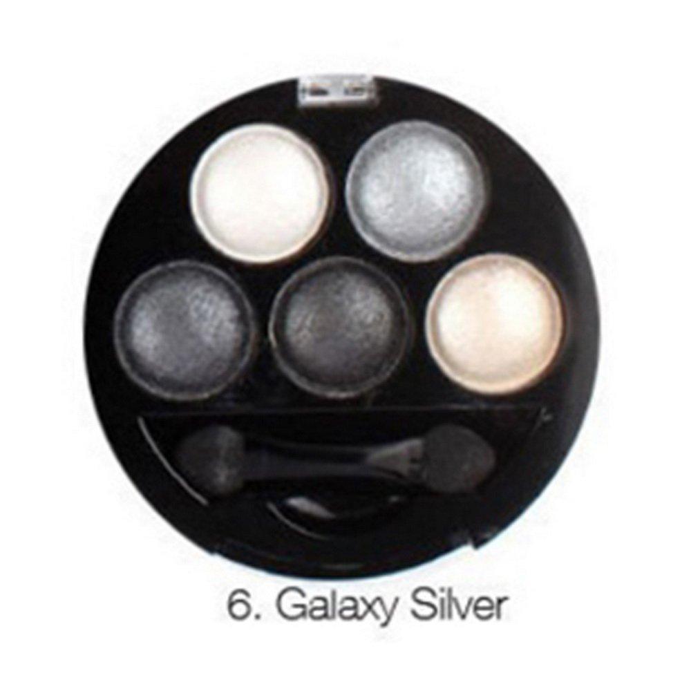 f6d84aa833c Get Quotations · MeineBeauty Eyeshadow Palette Eye Makeup Palette 5 Colors  Bright Matte Shimmer Eyeshadow Waterproof Professional Eyeshadow Cosmetic