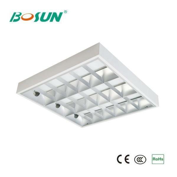 4x28w T5 Grid Fluorescent Ceiling Light