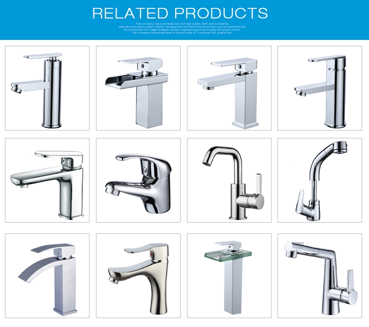 Wholesale bathroom classic water mixer taps single hole black basin faucet