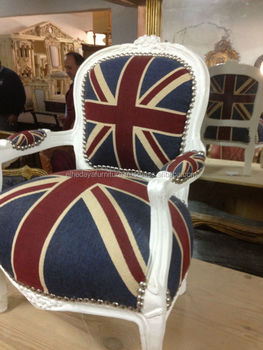 Baroque Armchair Union Jack Furniture