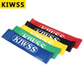 5 Colors Yoga Resistance Bands Elastic Rubber Band Loop Exercise Body Strength Weight Cross Fit Workout