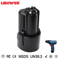 Libower Battery High capacity Replace for Boschs BAT411 2 607 336 996 Battery