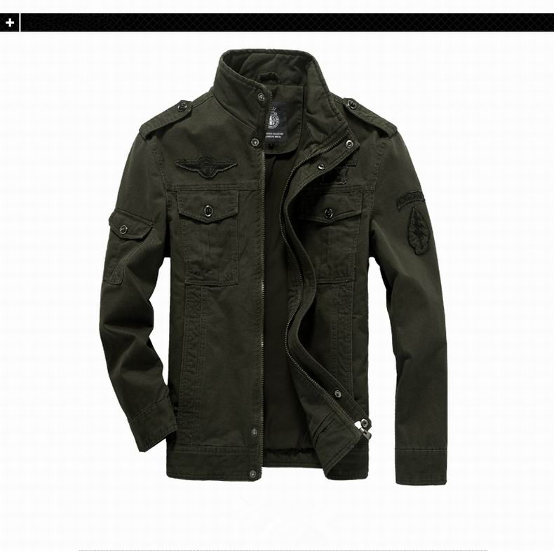 2020 Autumn Casual  Design High Quality  Outwear custom  Plus Size winter 100% Cotton Coach   Jacket for men