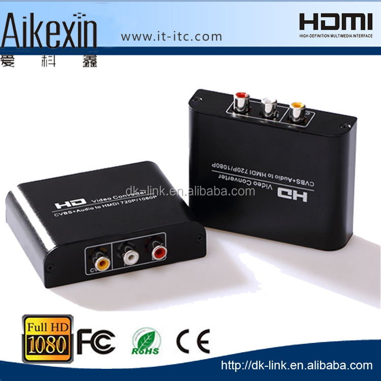 AV to HDMI S -Video to HDMI Converter 1080P [Hot ]