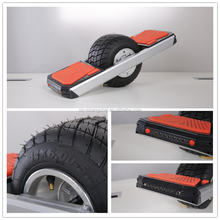 Trotter hot sale one wheel off road electric skate board with LED light