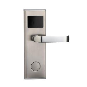 High quality Electronic Rf Door Handle Lock Hune Rfid Card Smart Hotel Lock