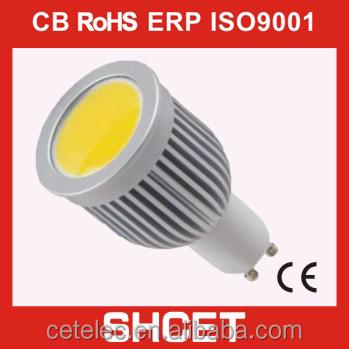 Cet-058 Aluminum Gu10 Led Spotlight 120 Degree Beam Angle Led Spot ...