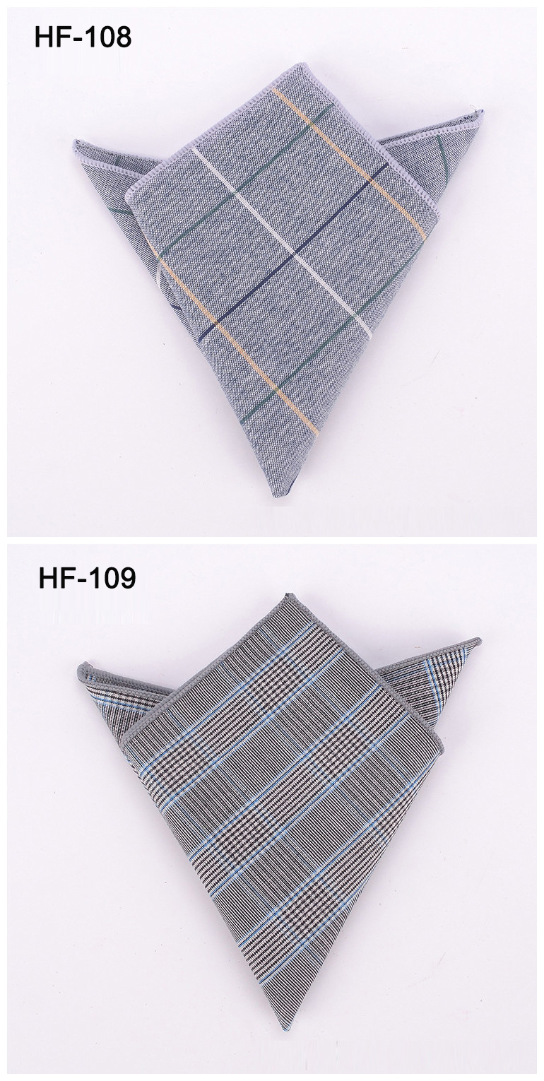 Wholesale Top quality cheap promotion new style 100% cotton mens pocket handkerchief