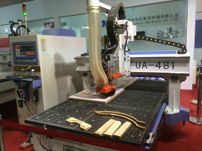 cnc wood carving machine with auto tool changer UA481