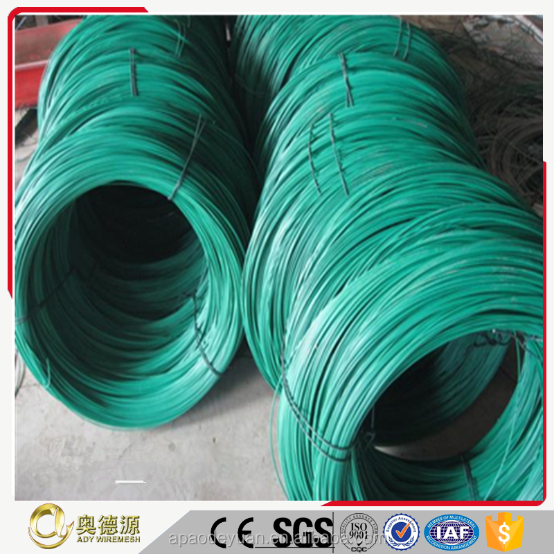 Plastic binding wire / PVC coated iron wire supplied from stock