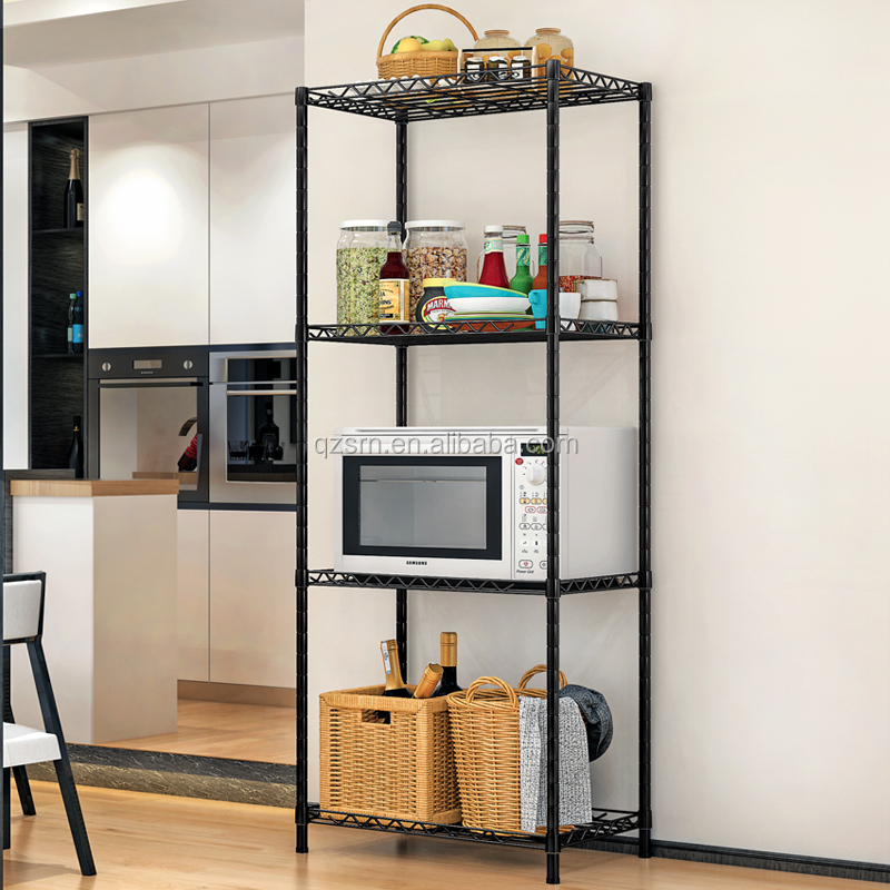 High Quality Adjustable Home Use Steel Assembly Folding Steel Metal Storage <strong>Rack</strong>