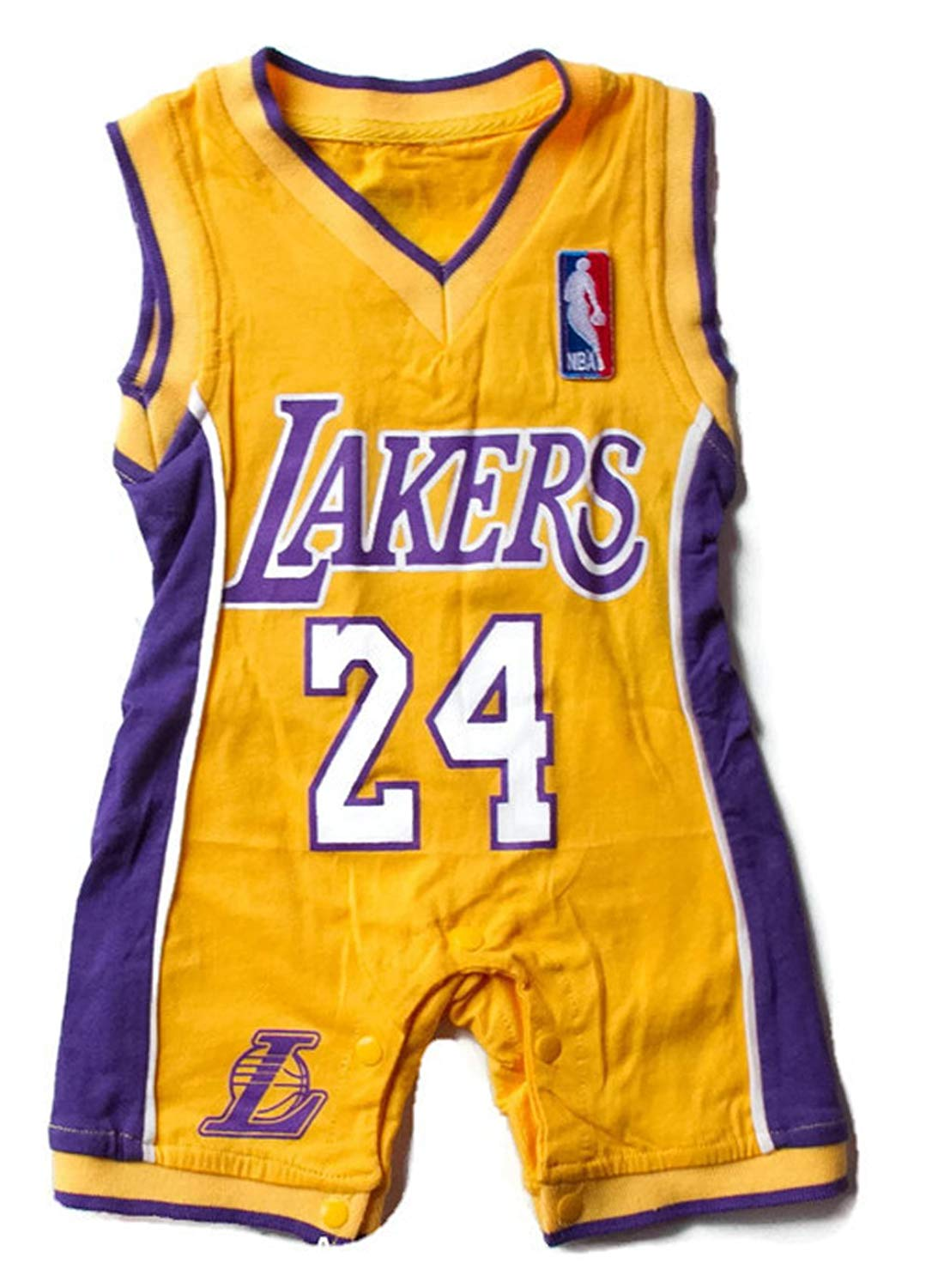 103757b05b8 Get Quotations · Lakers Baby Jersey