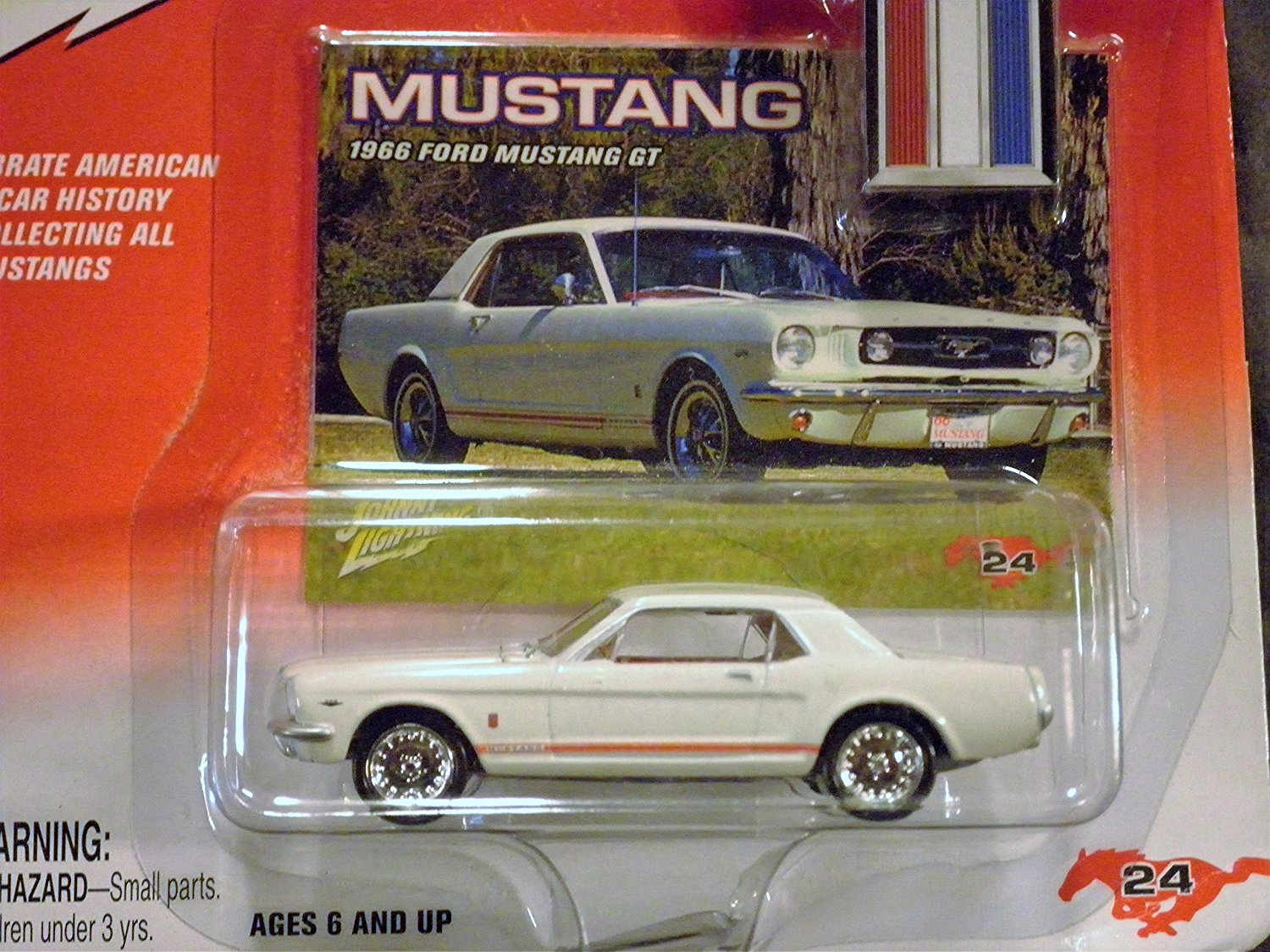 history of 1966 ford mustang