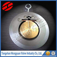 4 Inch SS 304 Wafer Single plate check valve