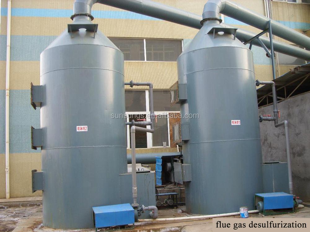 Dust Collector Fgd Scrubber Design Waste Gas Scrubber