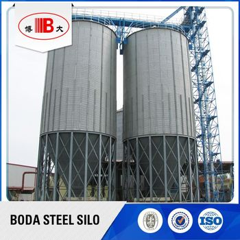 professional cement quality bulk silo tank with ce