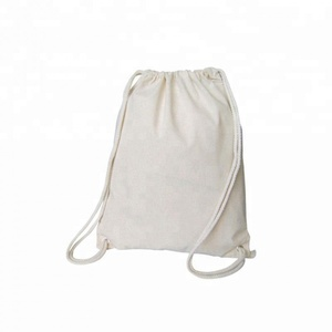 Wholesale Custom Drawstring Back Pack Sports Cotton