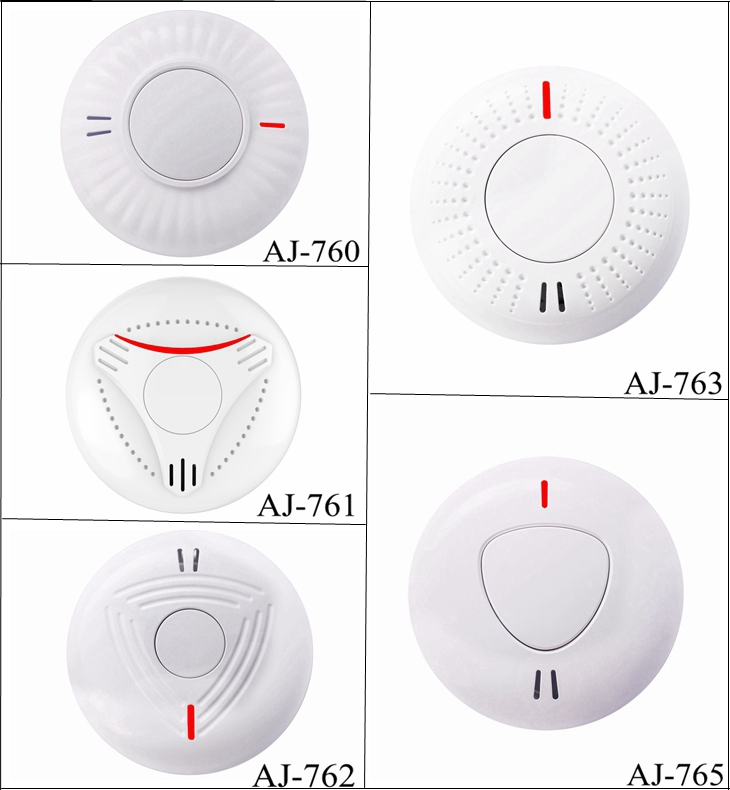 Personal House Usage Independent Smart Smoke Alarm Battery Smoke Detector
