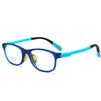 4a439bc6c33 Colorful Square Children Optical Glasses Frame TR90 Kids Eyewear Eyeglasses  Boys Girls Spectacle Frames Clear Lens