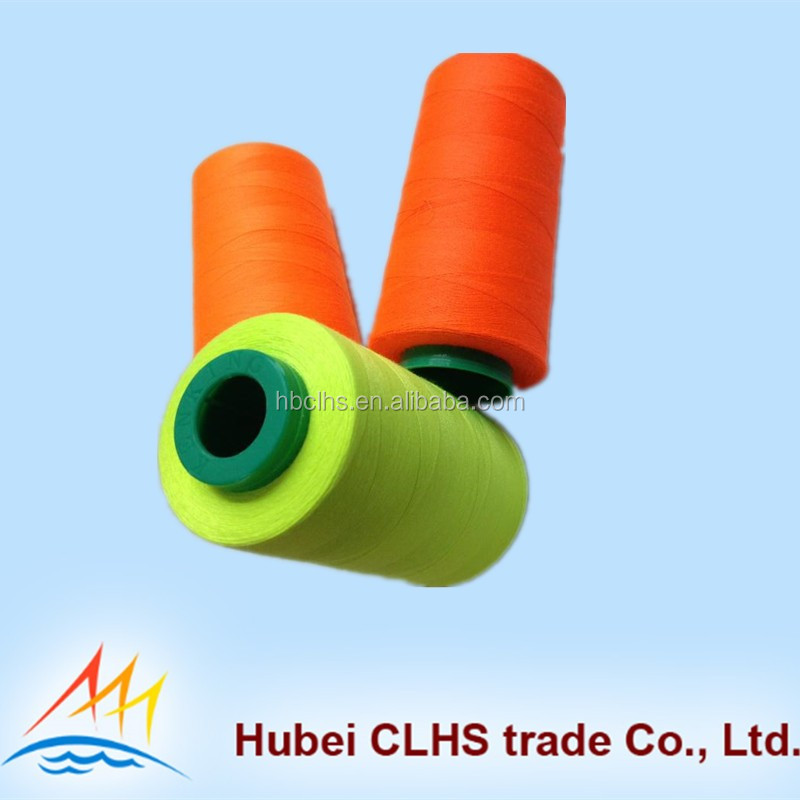 High strength sewing thread 100% polyester suit to USA and Europe market