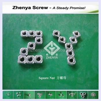Din 557 Din 562 M8 Square Nut Sockets Free Samples